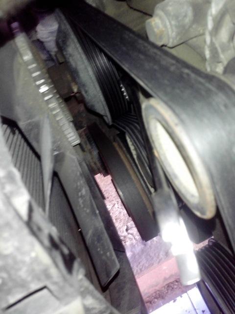 bmw 730d ремень навесного оборудования
