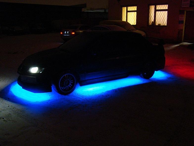 Как сделать подсветку на авто