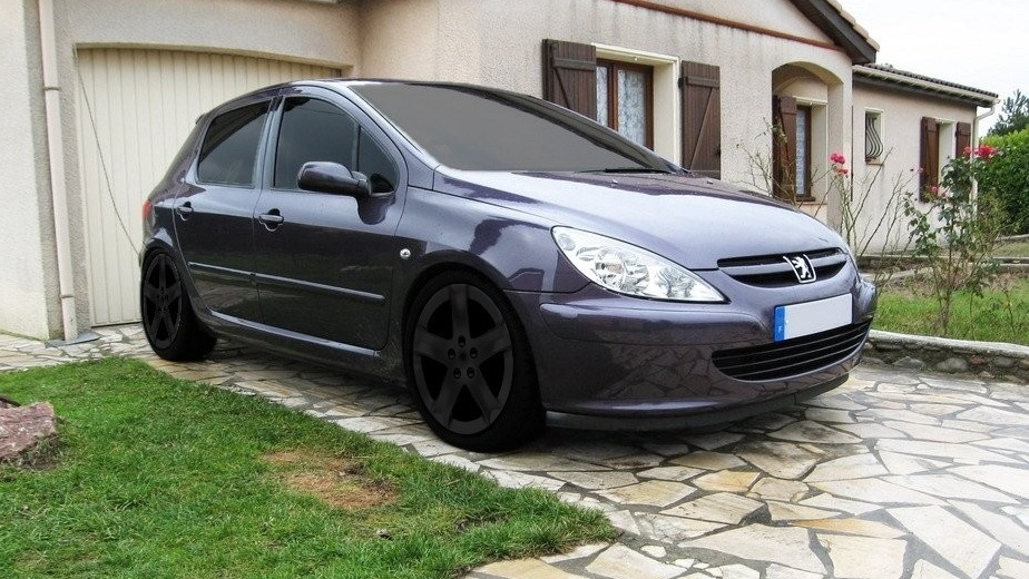 "peugeot 307 ""purple-bitch"" 