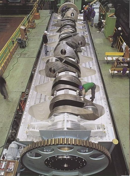 Самый большой двигатель