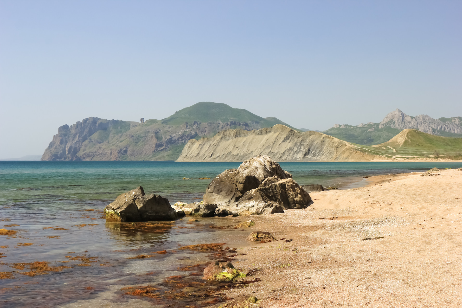 Пляж тихая бухта коктебель фото