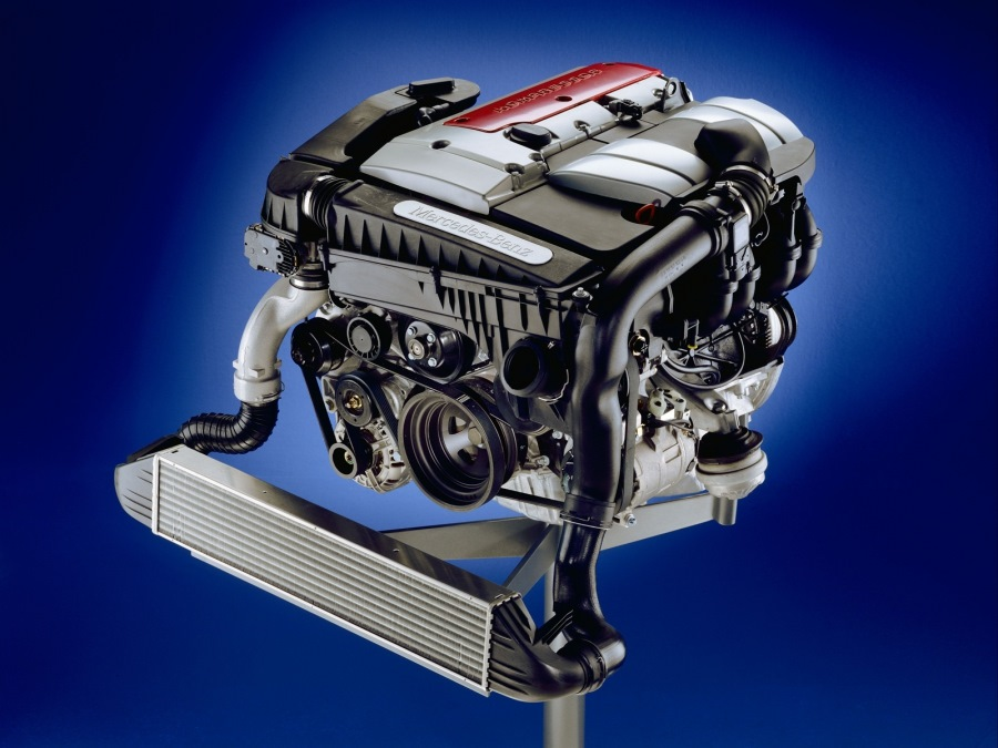 Двигатель M111 Kompressor бортжурнал Mercedes Benz E