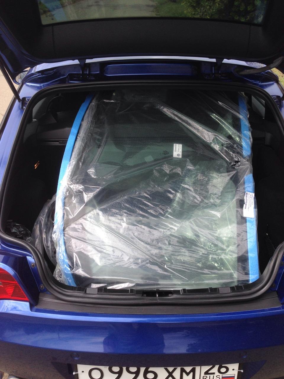 Как клеить авто стекла