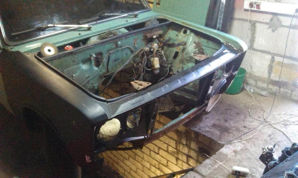 Кузовной ремонт ваз 2106