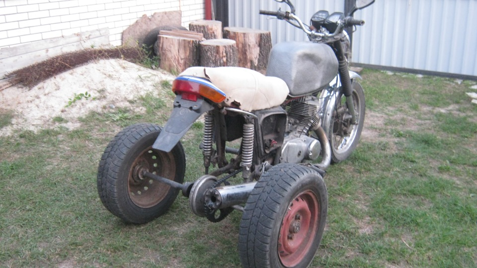 Трайк из мотоцикла иж своими руками 82