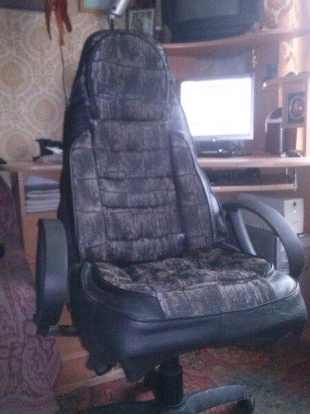 Как сделать чехол на компьютерное кресло 83