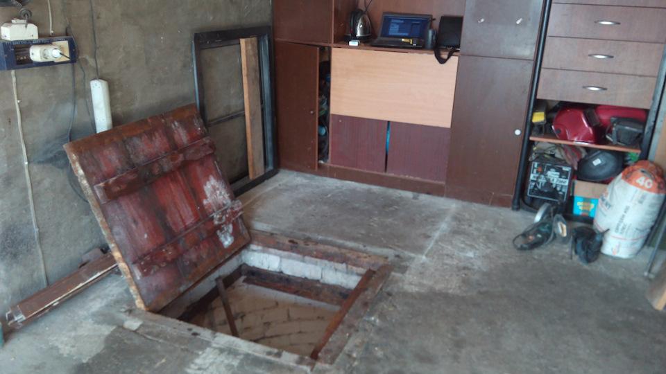 люк в подвал в гараже