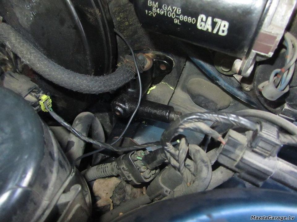mazda 626 1992 ge 2.0i ремонт главного тормозного цилиндра