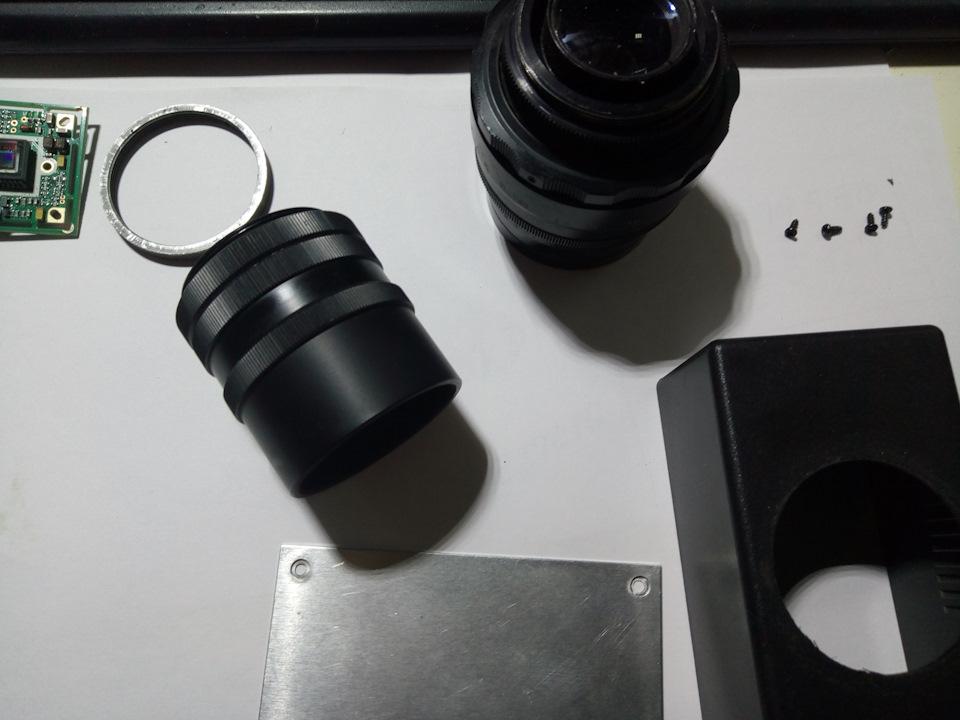 Как сделать микроскоп из объектива 135