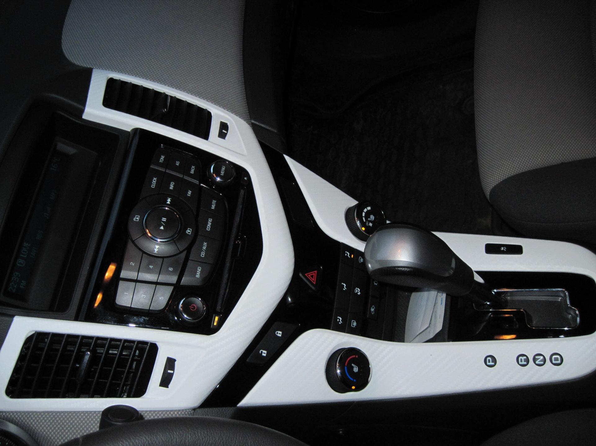 Винил салона 3d carbone — бортжурнал Chevrolet Cruze Black