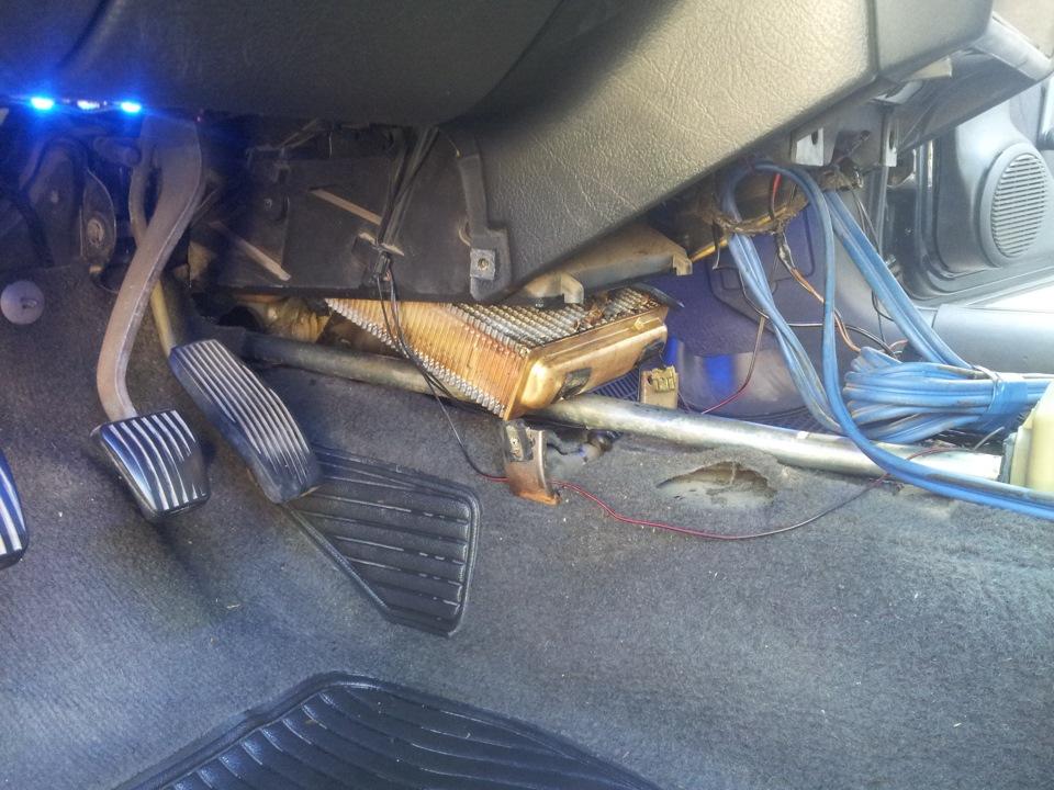 опель вектра демонтаж радиатора печки