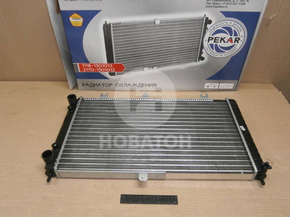 Радиатор охлаждения двигателя приора без кондиционера