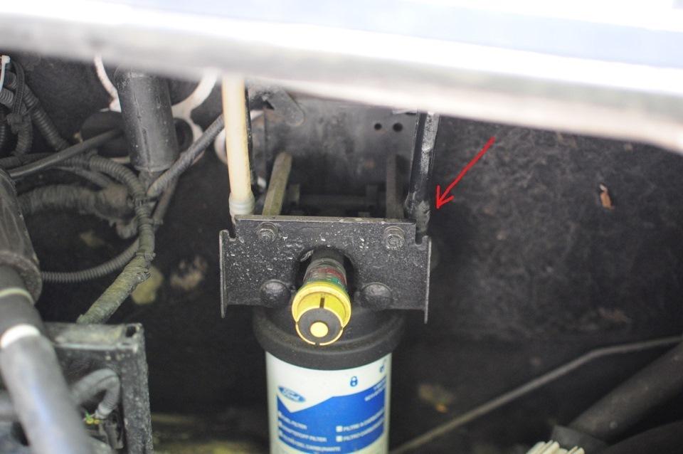 ford transit прокачка топливной системы