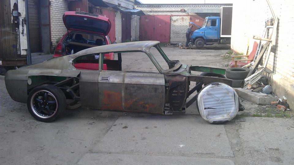 Переделка москвича 412
