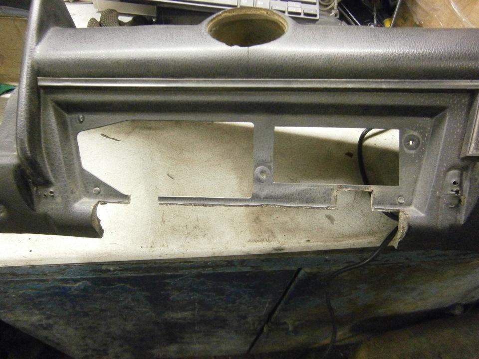 Центральная консоль ваз 2107