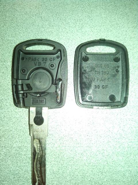 Cделать ключ для автомобиля с чипом