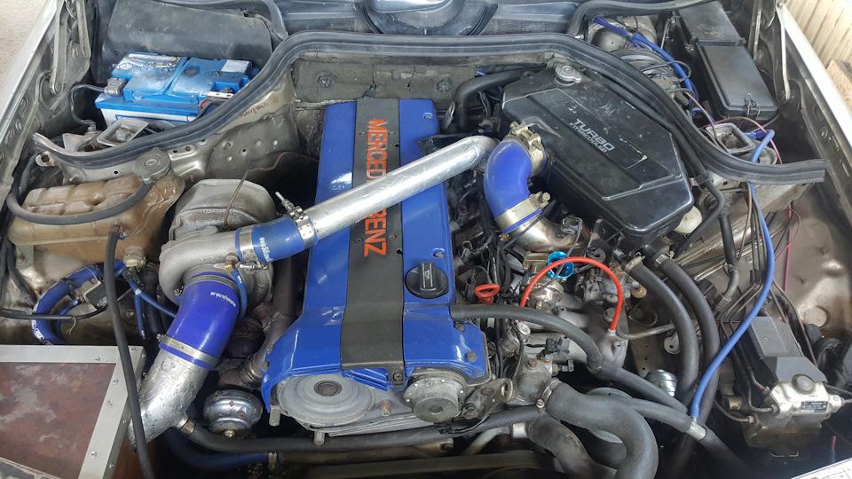 Mercedes-Benz E-class 300E-24 Turbo (m104 980)   DRIVE2
