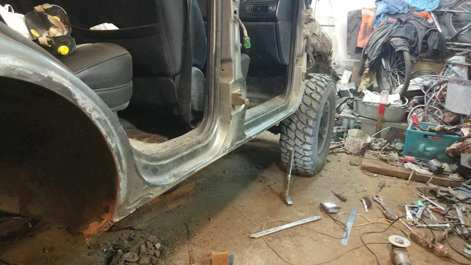 Ремонт автомобилей шевроле-нива своими руками5