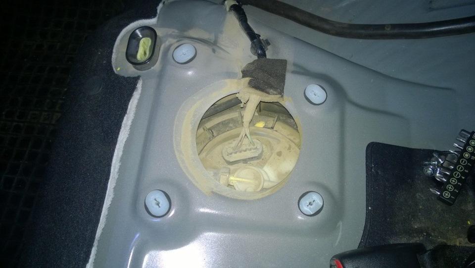 топливный фильтр mazda 3