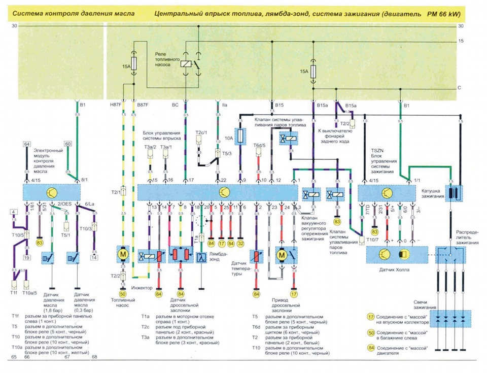 схема. проверка проводки