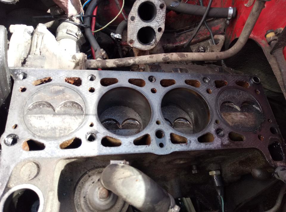 2101 капремонт двигателя 58