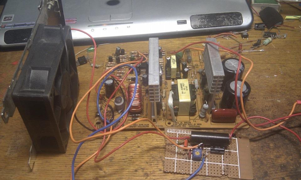 зарядное из блока питания компьютера Переделка компьютерного блока питания под зарядное устройство ...