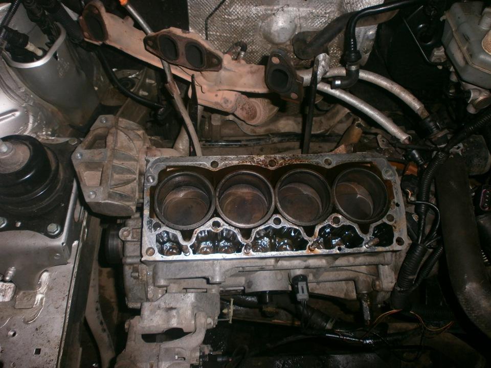 Ремонт двигателя на шкоде