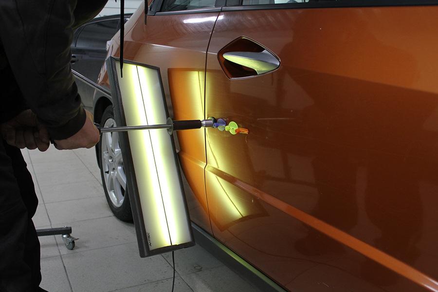 Суры для как самому выпрямить вмятину на двери машины электрошокер