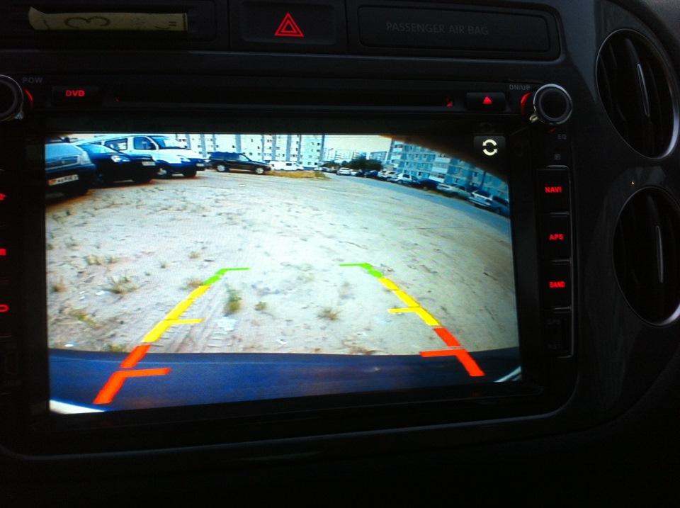 картинка с камеры заднего вида рябит