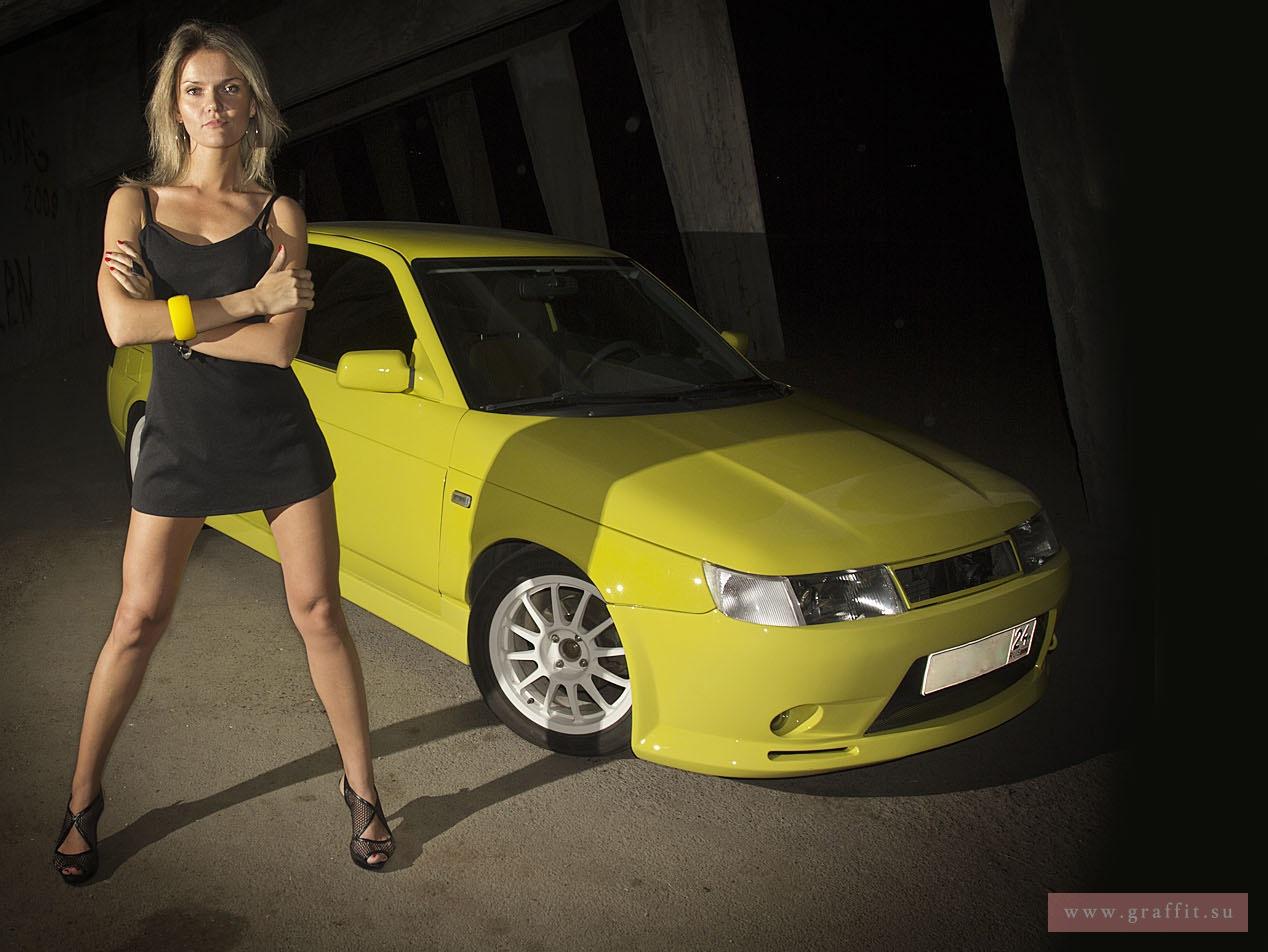 Фото девушек на авто 2114 ростов