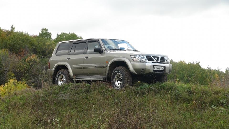 Nissan patrol zd30
