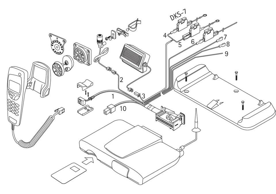 Схема Nokia 6090