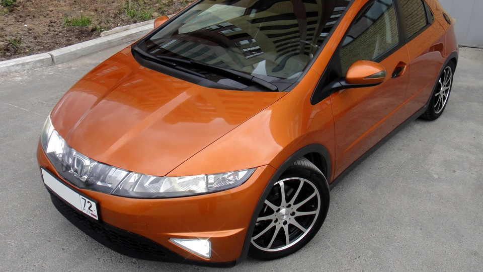 honda civic 5d чистка форсунок