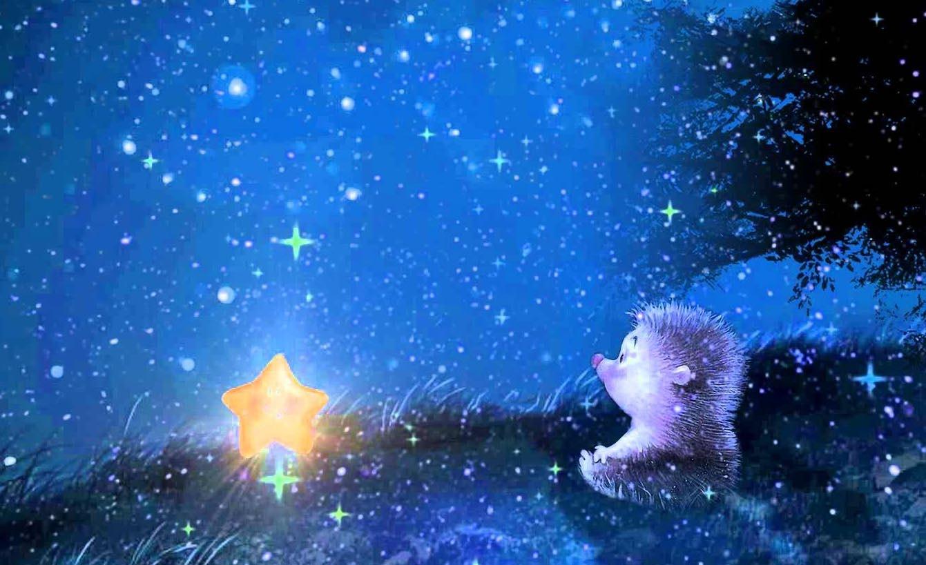 Сказка на ночь картинки красивые, смешная