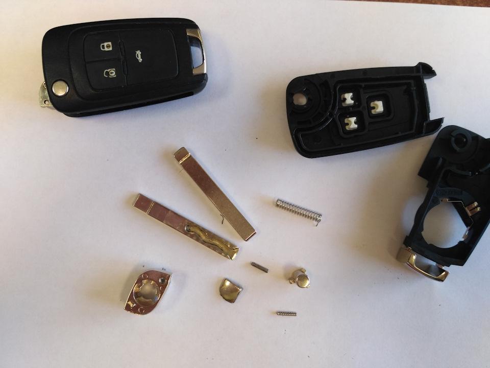 Как сделать ключ на шевроле круз 673