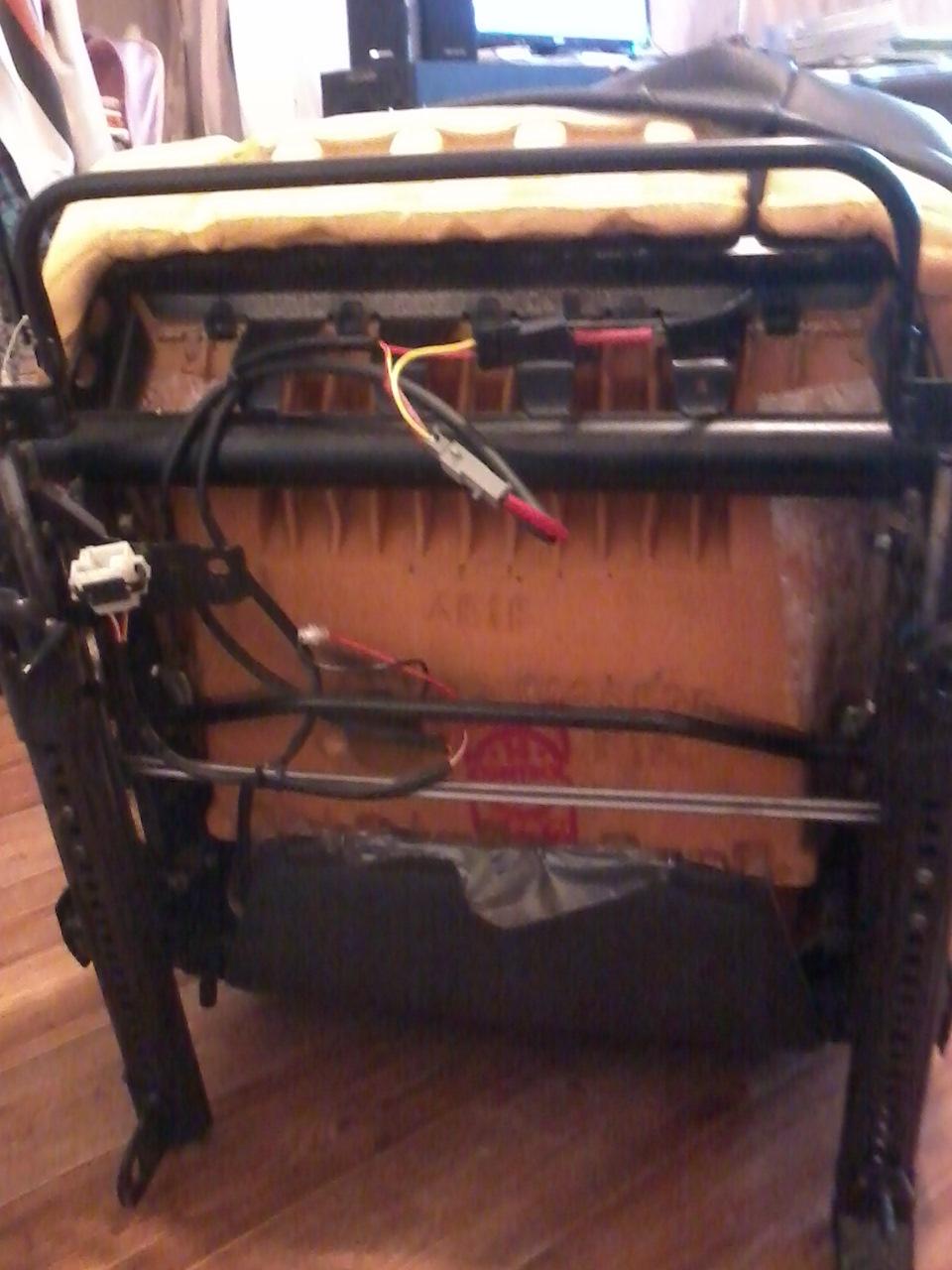 ремонт сиденье вольво 850