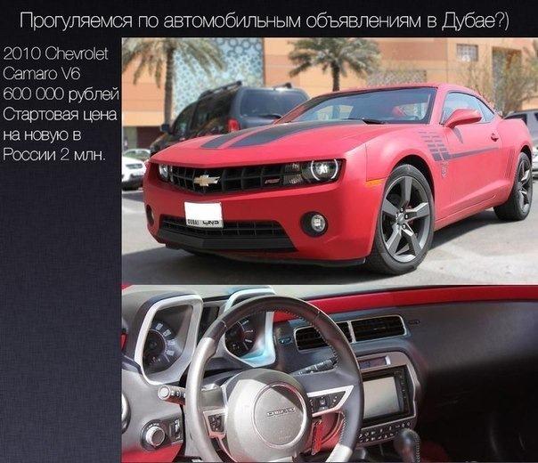 машины бу цены