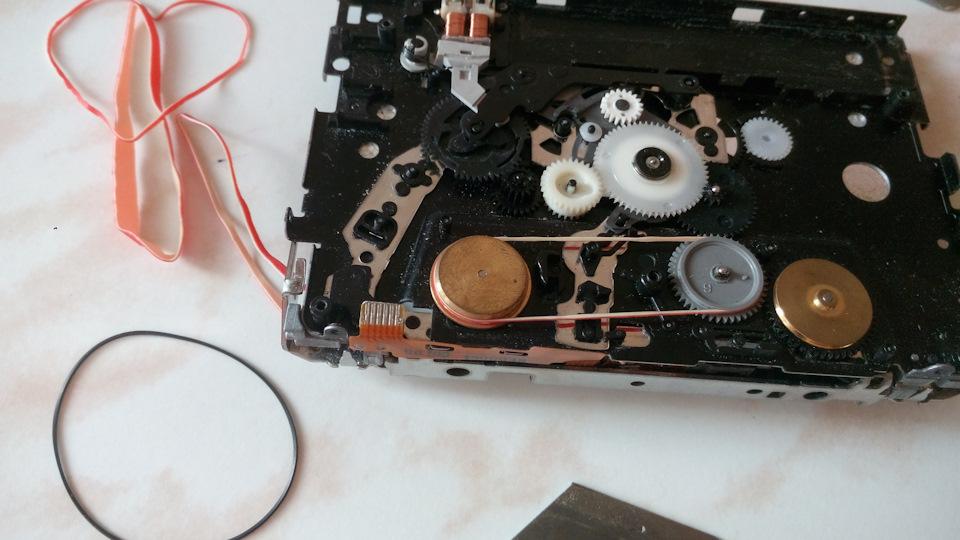 Ремонт кассетного видеоплеера