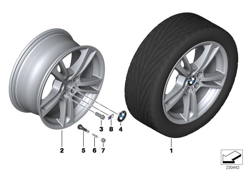 Сборка колёс BMW x3 g01