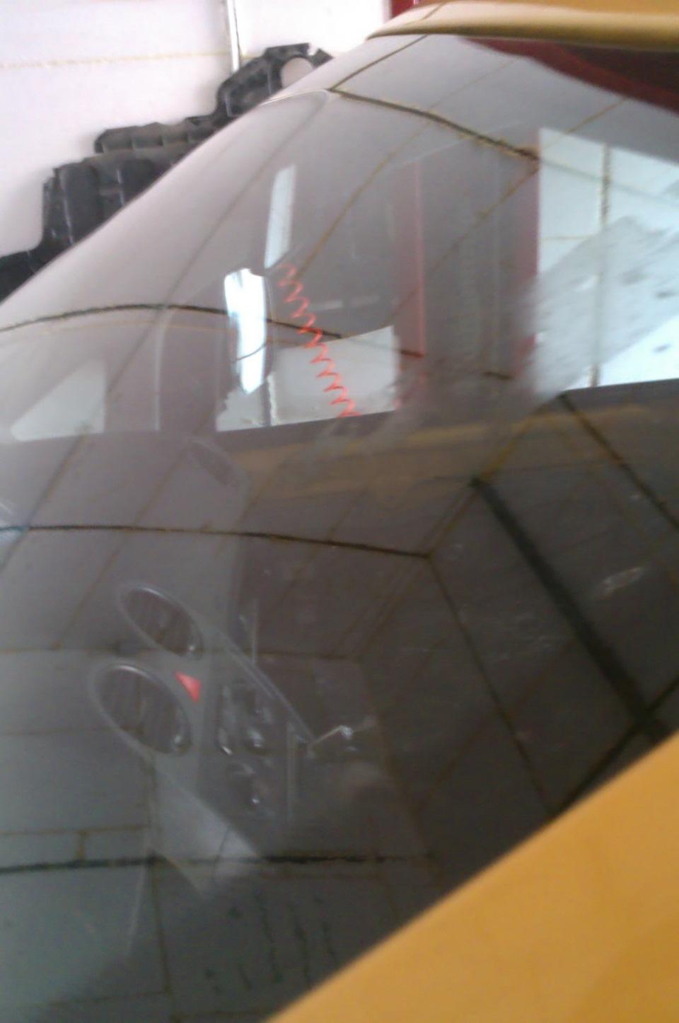 Замена лобового стекла на киа соренто 2014г