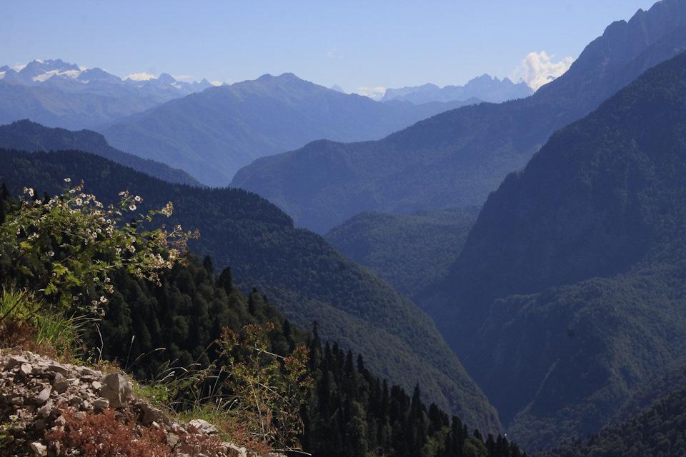 Каньон реки Бзыбь Абхазия