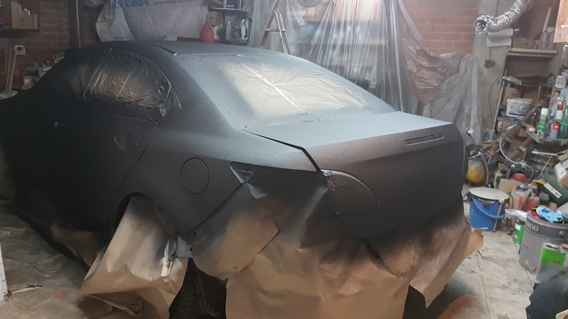 Покраска машины раптором своими руками