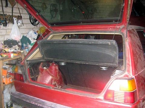 Полка багажника от Ford Scorpio