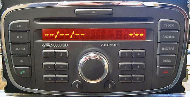 Инструкция Для Автомагнитолы Ford 6000 Cd Rds