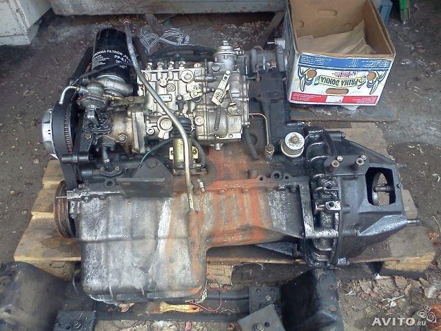 как поставить двигатель отвольво на уаз