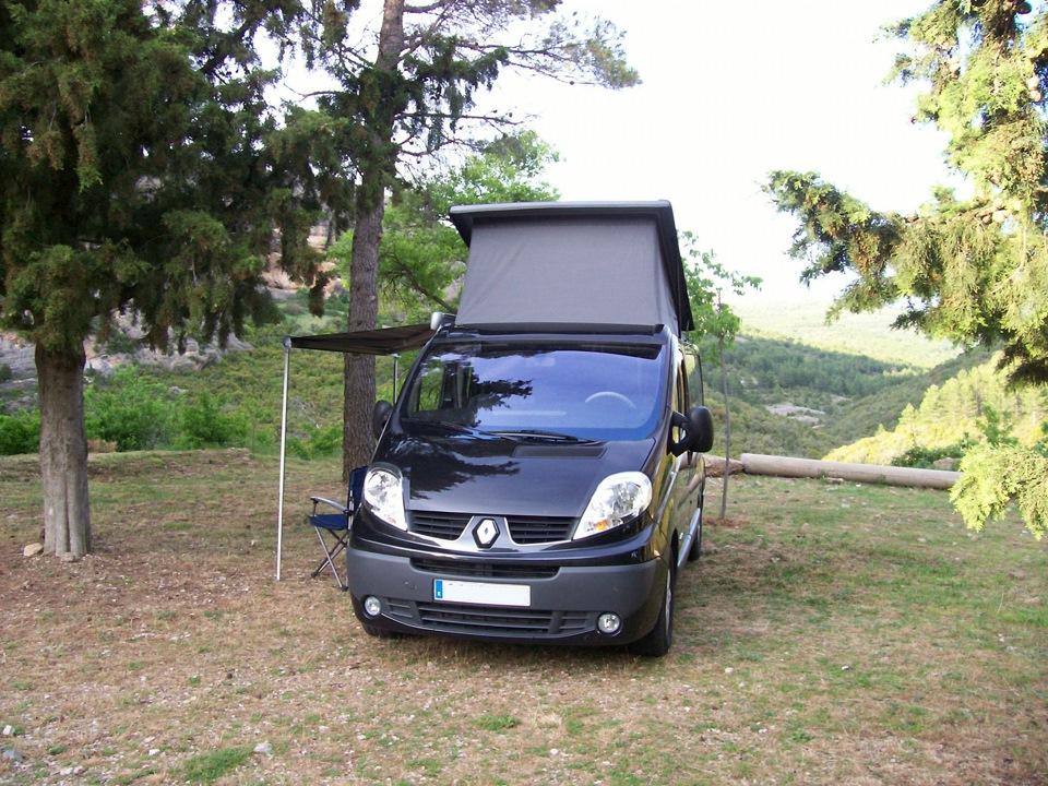 renault trafic camping bus renault trafic black rider 2 5 turbo 2011 drive2. Black Bedroom Furniture Sets. Home Design Ideas