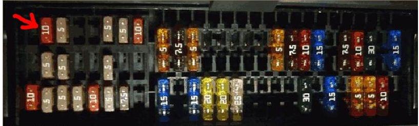 фольксваген поло заменить предохранитель стеклоочистителей