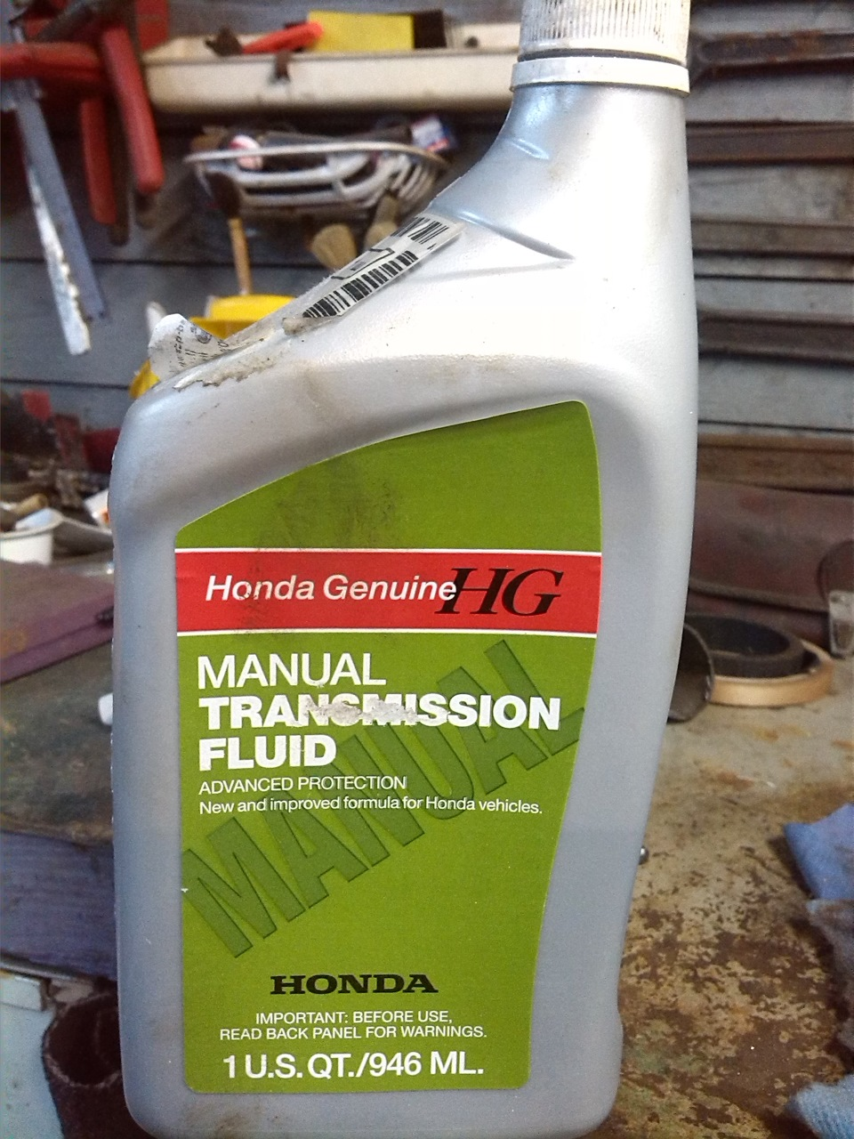 Замена масла в двигателе хонда