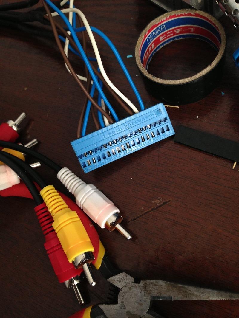 схема подключения штатной магнитолы на ауди а6 с5 1999