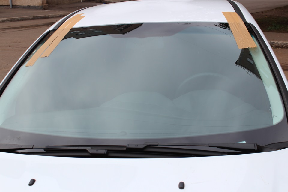ford focus лобовое стекло